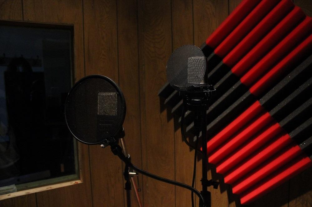 Recording Studio Vocal Booth
