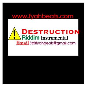 Destruction riddim str8 fyah beats